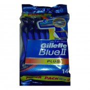 Gillette Blue2 plus -ژیلت بلو2 پلاس 14 عددی