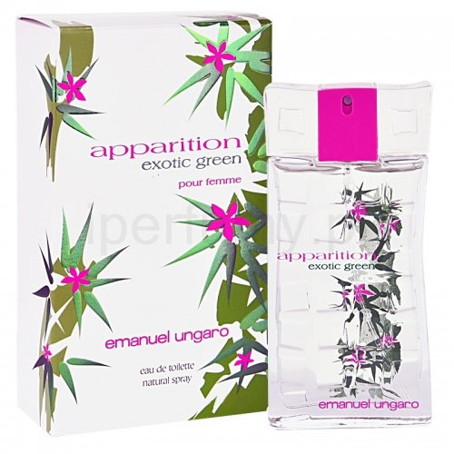 Apparition Exotic Green Emanuel Ungaro -ادکلن امانوئل آنگارو  اپریشن اکسوتیک گرین زنانه