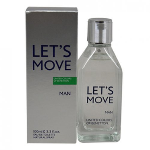 Let's Move Benetton for men-ادکلن بنتون لتس موو مردانه