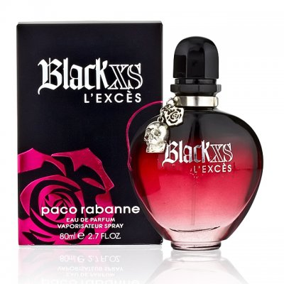 Black XS L'Exces for women Paco Rabanne-پاکورابان بلک ایکس اس لکسس زنانه